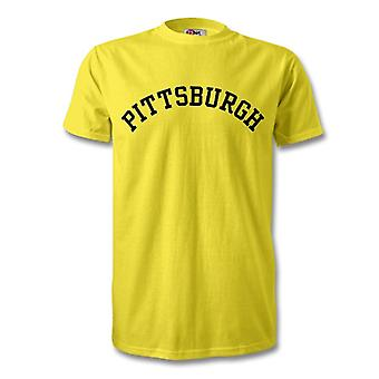 Pittsburgh College stijl T-Shirt