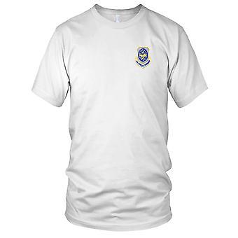 USAF Airforce - Air mobilitet kommando broderede Patch - Herre T-shirt