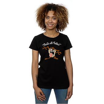 Looney Tunes Women's Taz That's All Folks T-Shirt