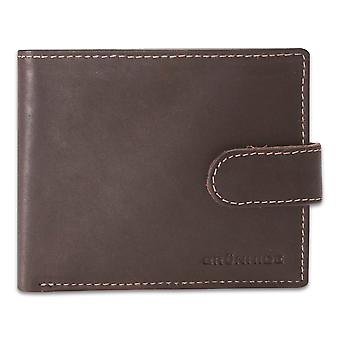 Brunhide Mens Distressed Leather Bifold Wallet With Coin Pocket Boxed 235-300