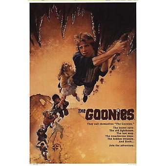 Goonies - One Sheet Art Poster Poster Print