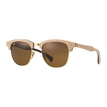 Sonnenbrillen Ray - Ban Clubmaster Holz RB3016M 1179 51
