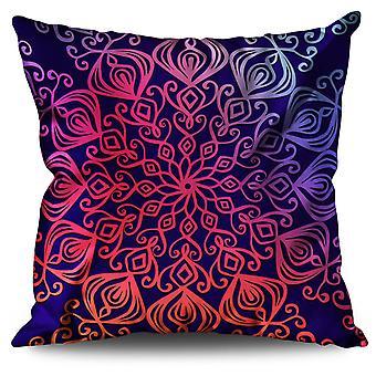 Wellcoda Ornament Linen Cushion Wellcoda Ornament | Wellcoda