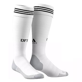 2018-2019 Tyskland hjem Adidas sokker (hvit)