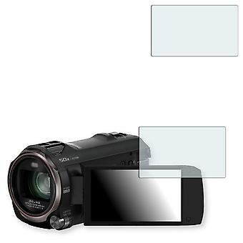 Panasonic HC V770 display protector - Golebo crystal clear protection film