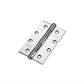 Zoo Slim Knuckle Bearing Hinge - SS201 - Satin Stainless - ZHSS63S