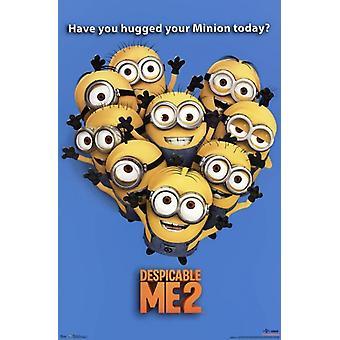 Despicable Me 2 - Minions Hug Poster Print