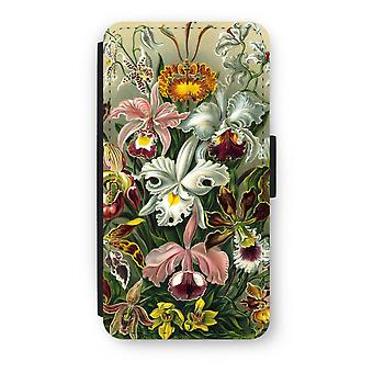 iPod Touch 6 Flip Case - Haeckel Orchidae