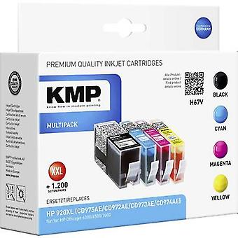 KMP Ink replaced HP 920, 920XL Compatible Set Blac