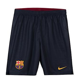 2018-2019 Barcelona Home Nike Football Shorts Navy (Kids)