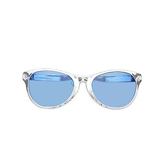Jumbo Silver Wayfarer Metallic Glasses