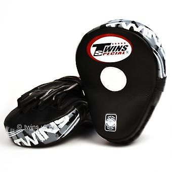 Twins Special PML10 Deluxe Curved Leather Focus Mitts