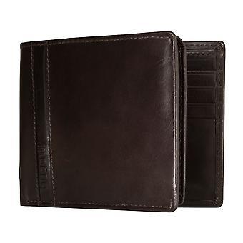 Bugatti Trenta men's apparent bag purse wallet purse Brown 5189