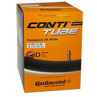 Continental bicycle tube Conti TUBE compact wide 16
