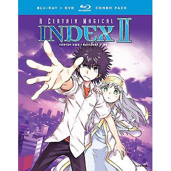 A Certain Magical Index II: Season Two [Blu-ray] USA import