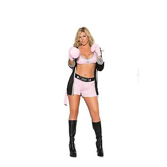 Elegant Moments Plus taille Prizefighter Boxer fille boxe Roleplay Costume d'Halloween