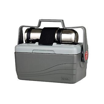 Thermos 6,6 L geïsoleerd koeler met 1.0L S/Steel Vacuum Flask