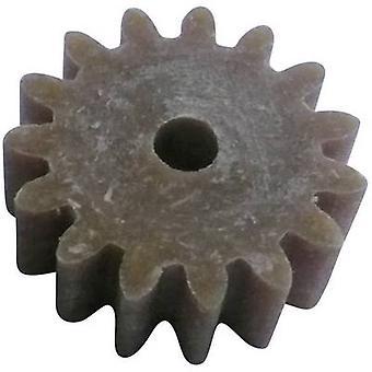 Reely Wood, Plastic Cogwheel Module Type: 1.0 No. of teeth: 15 1 pc(s)