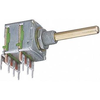 Potentiometer Service 4005 Single turn rotary pot Stereo 0.2 W 10 kΩ 1 pc(s)