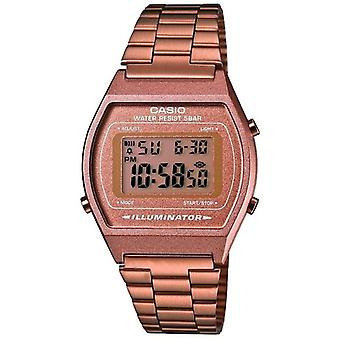 Casio B640WC-5AEF Retro Classic Digital Watches with Stainless Steel Band