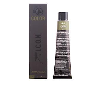 Icon Ecotech Color Natural Color Light Brown 60ml Unisex New Sealed Boxed