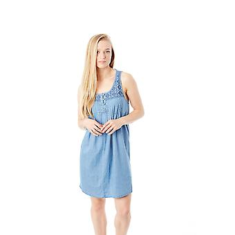 Volcom Cloud Blue Cham Hey Dress