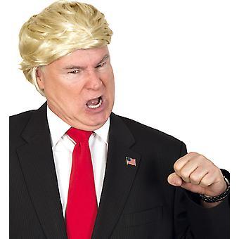 Kort hår parykk President