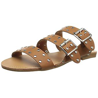 Journee Collection Womens Darby Open Toe Casual Slide Sandals