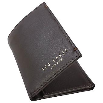 Ted Baker Jonnys Mini Card Wallet - Chocolate