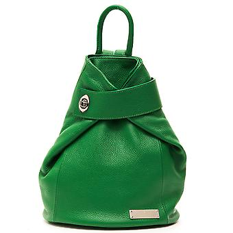 Trussardi of casual ladies rucksack Green