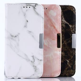 ¡Carpeta fundas - iPhone Max XS de mármol!