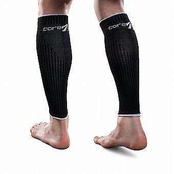 Therafirm Core-Sport Compression Leg Sleeves [Style AD11] Black  S