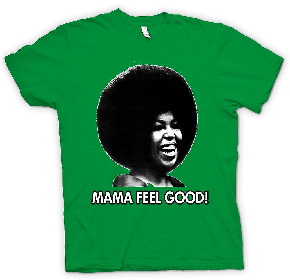 Hommes T-shirt - Mama Feel Good - Soul - Afro