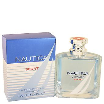 Nautica Voyage Sport by Nautica Eau De Toilette Spray 3.4 oz / 100 ml (Men)