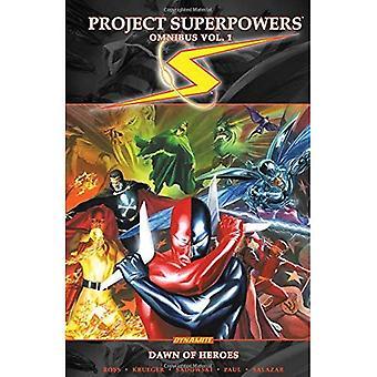 Projet superpuissances Omnibus Vol 1: L'aube des héros TP