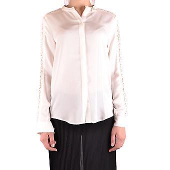 Michael Kors White Silk Shirt