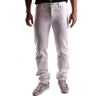 Marc Jacobs White Cotton Jeans