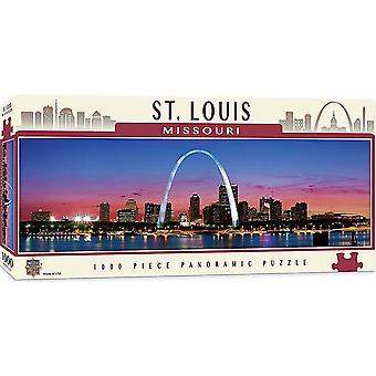 St. Louis Missouri 1000 piece panoramic jigsaw puzzle 990mm x 330mm (mpc)