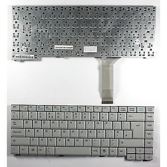 Advent 7017 Grey UK Layout Replacement Laptop Keyboard