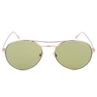 Tom Ford Ace Aviator Sunglasses FT0551 28N 55