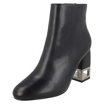Ladies Spot On Ankle Boots