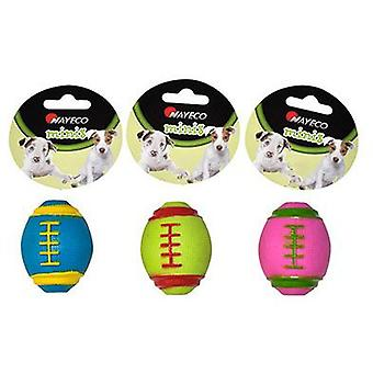 Nayeco Small dog toy rugby ball (Dogs , Toys & Sport , In latex)