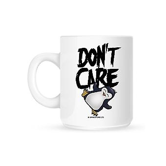 Psycho Penguin Don't Care Mug