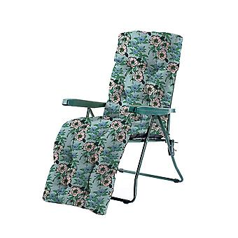 Gardenista® Water Resistant Pastels Floral Print Tufted Relaxer Chair Kissen