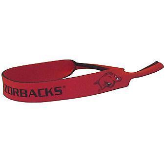 Arkansas Razorbacks NCAA Neoprene Strap For Sunglasses/Eye Glasses