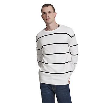 Urban Classics Men's Sweatshirt Line Striped