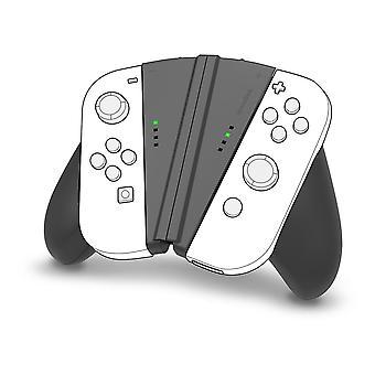 SPEEDLINK V-grip 2-in-1 handvat voor de Nintendo-schakelaar Joy-cons-Black SL-330602-BK