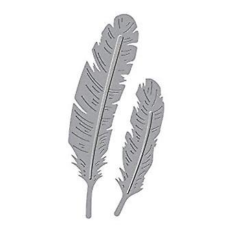 Spellbinders Die D-Lites Two Feathers (S2-270)