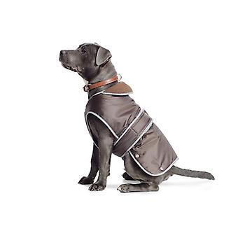 Stormguard chocolat brun chien imperméable manteau - Medium