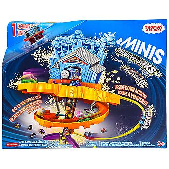 Thomas & Friends Minis Steelworks Stunt Set